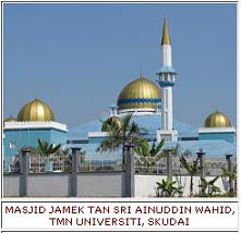 MASJID JAMEK TAN SRI AINUDDIN WAHID, SKUDAI