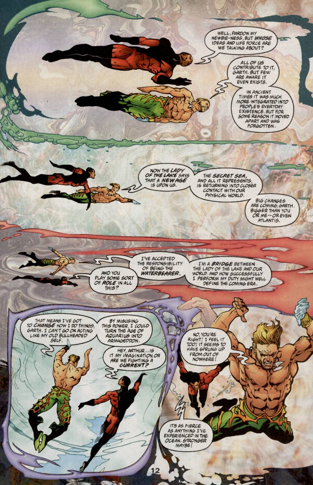 Aquaman (2003) Issue #5 #5 - English 14
