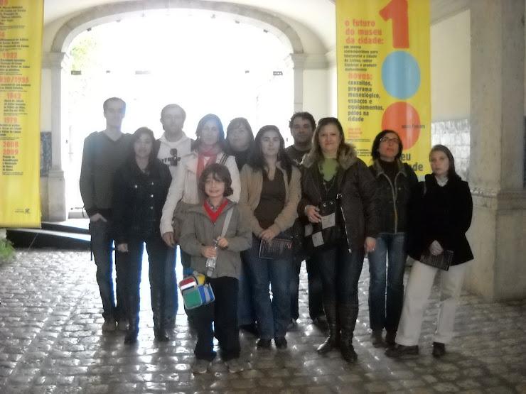 Visita ao museu da cidade