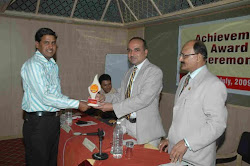 Best Achiever Award By M.D. (RKCL)