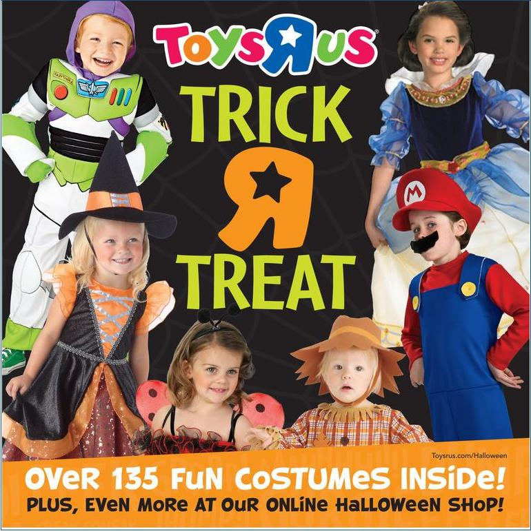 toys r us halloween catalog - Halloween Catalogs