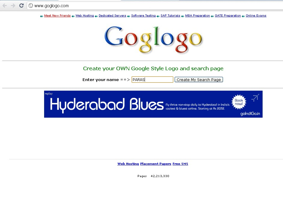 home for computer lovers how to change google logo by your name