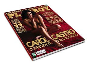 Playboy - Agosto de 2008 - Carol Castro