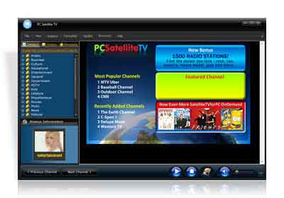 Satellite TV for PC 2008