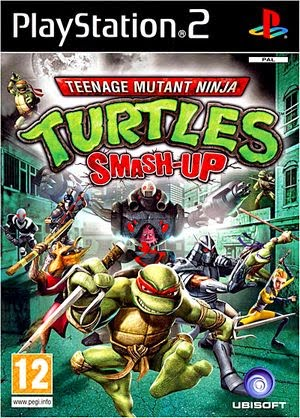Teenage Mutant Ninja Turtles : Smash-Up PS2 PAL MULTI5 [MU / RS]