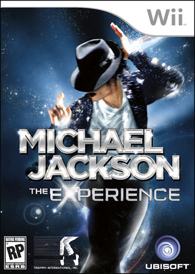 Wii MJ Experience cover Michael Jackson The Experience NTSC [ Wii ]