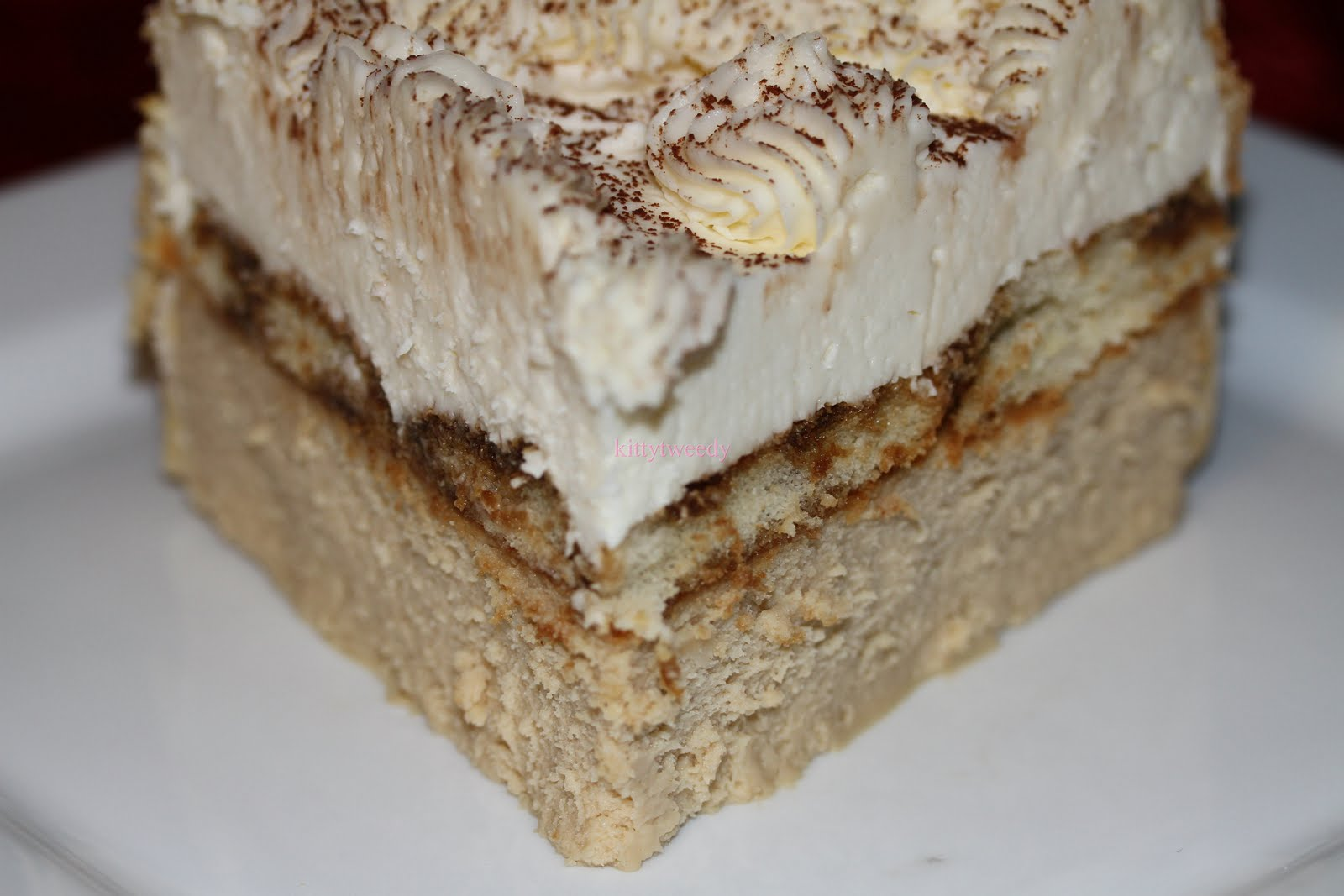 Homemade By Angie: Junior's Tiramisu Cheesecake
