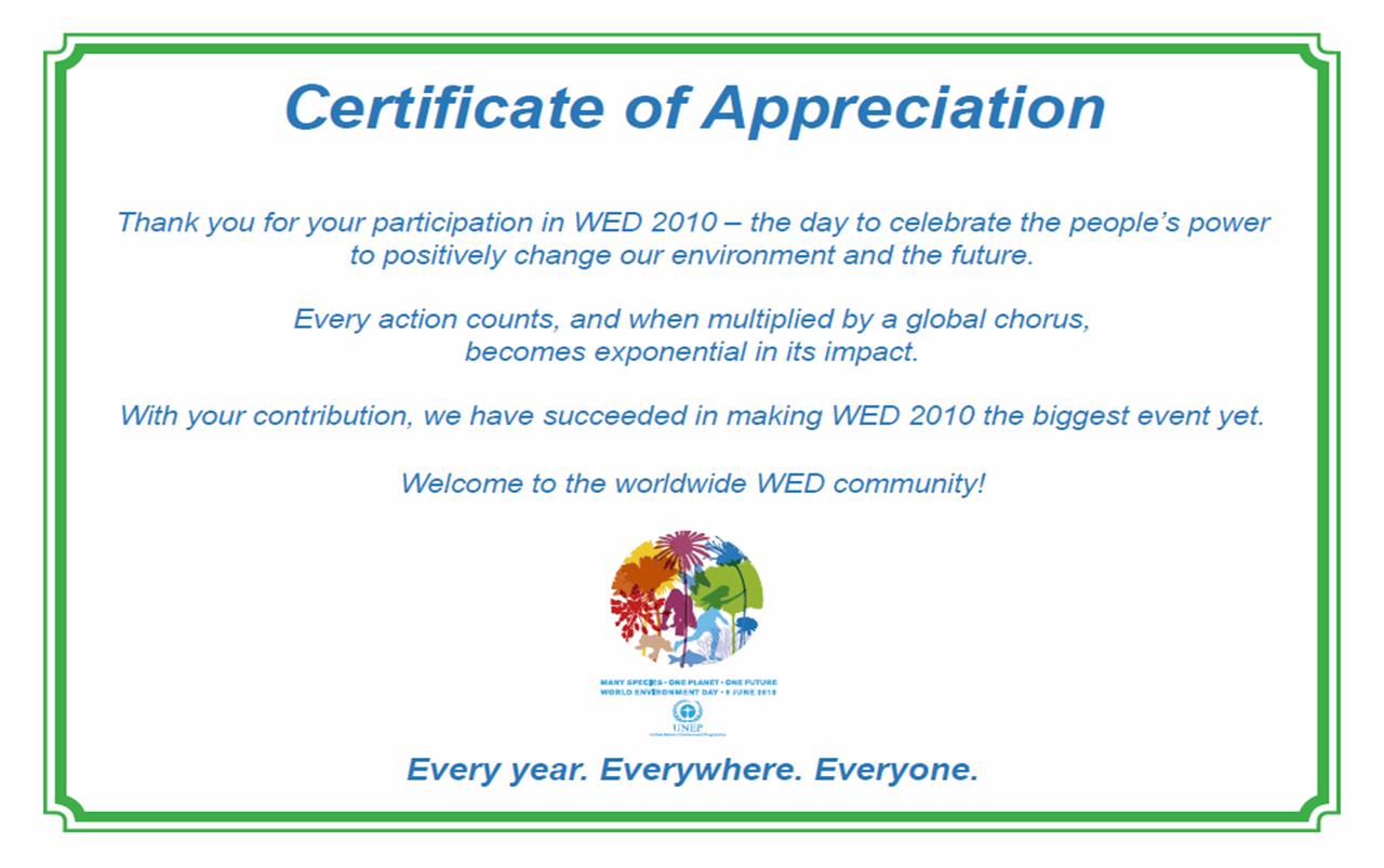 Doc698542 Word Certificate of Appreciation Template Microsoft – Certificate Sayings