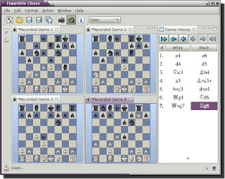 Haundrix Chess - elegant and functional chess program Haundrix1