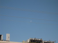 picture of the moon out..it was 930am when I took this pic
