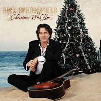 Rick Springfield's Christmas With You cd cover