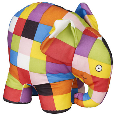 Book and activity for Elmer the Elephant | Teach Preschool