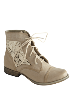 Shoe Of The Day: Crochet Panel Boot by Matalan