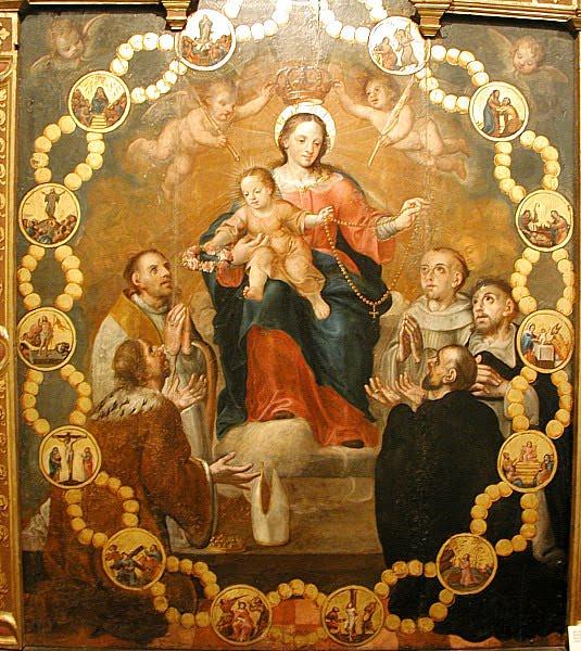Эра Милосердия. Молитвы и призывы. - Страница 2 Our-lady-of-the-rosary