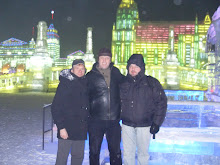 My friends and I at the icecity