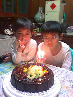 表弟11歲生日