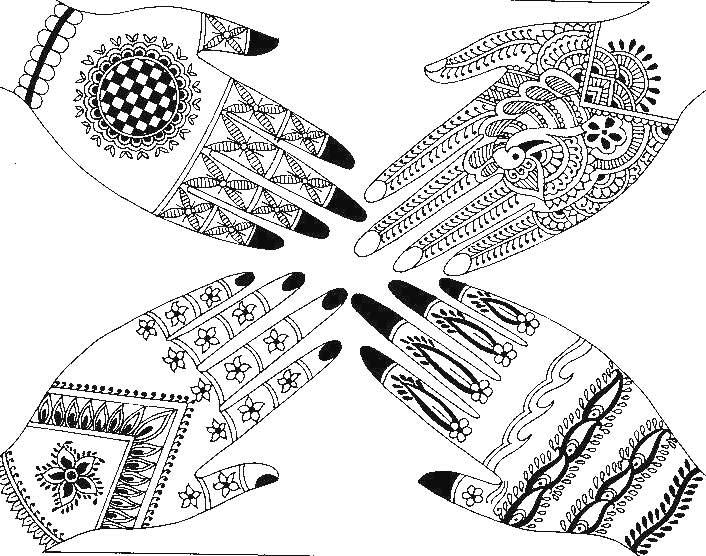 Magnificent Henna Design Templates Composition - Resume Ideas ...