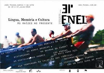 31° ENEL – Língua, Memória e Cultura – As Raízes no Presente