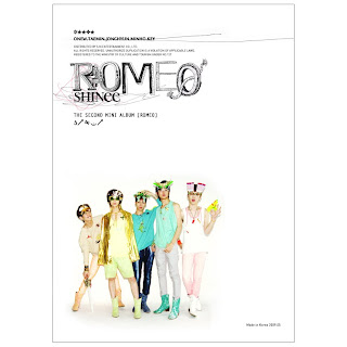 Descargar SHINee 2nd Mini album Romeo Romeo