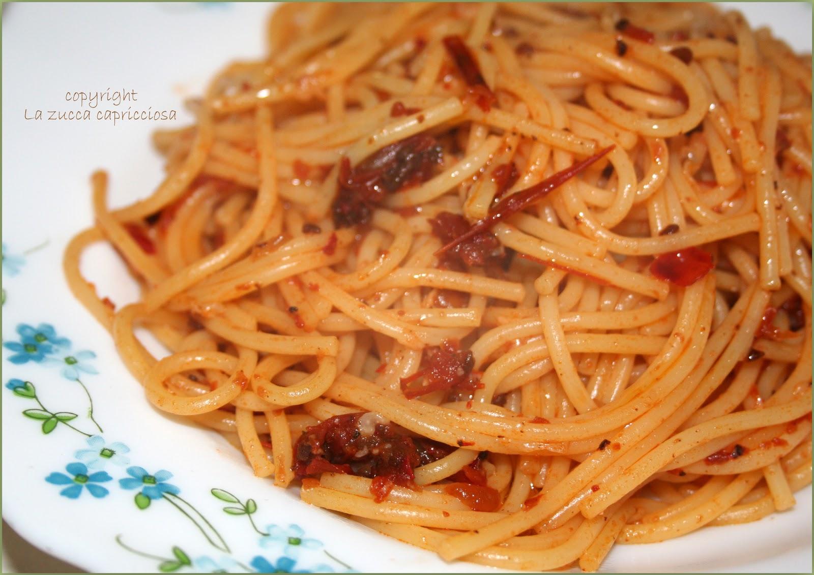 Spaghetti con sugo pronto alla 39 nduja da lo specchio ti - Lo specchio ti riflette testo ...