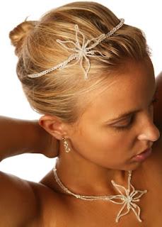 cheveux mariage diadème