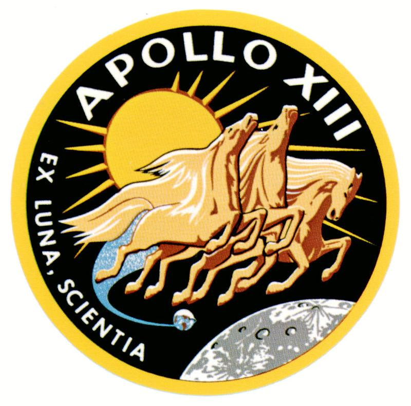 Apollo 13 Patch Apollo 13