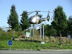 Le Musée de l'ALAT et de l'Hélicoptère - sous la gazelle le lien du site