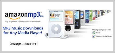 Amazon MP3 Store Now Online