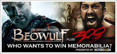 Win Beowulf and 300 Posters!