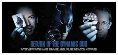 Interview with Hans Zimmer and James Newton Howard (The Dark Knight)