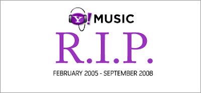 Yahoo! Music is Shutting Down