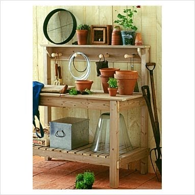 Too Many Tomatoes : Potting Benches