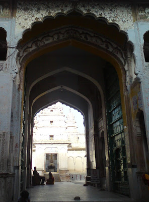Entrance to the Rangji Temple - Pushkar