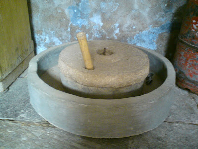 Traditional Chakki used for grinding purposes