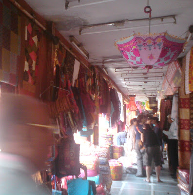 Colorful Jaipur markets, Bapu Bazaar