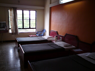 My room at hotel Abhishek in Nashik