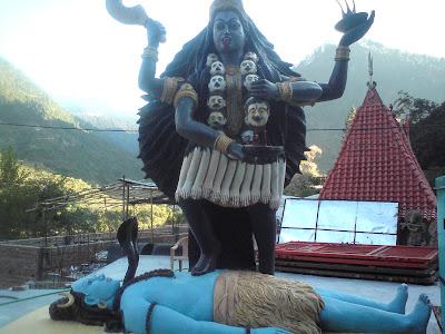 Maa Kali - Pilot Baba Ashram,Enroute to Gangotri