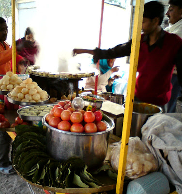 Lip smacking street food in Varanasi