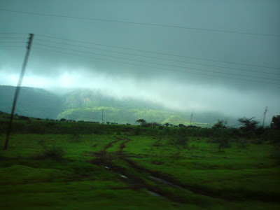 A field on the way to Trimbakshwar from Nashik