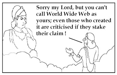 world wide web, www owners, www ownership, non-god