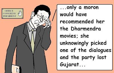 sonia, gandhi, narendra modi, gujarat, dharmendra, modi, dialogues , movie script