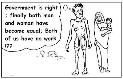 nrega, mnrega, job guarantee, equal wages