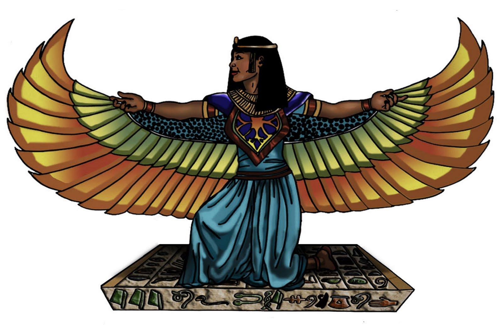 Eye Of The Sun God Featured Illustration Isis Wingspan