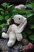 Vintage Fabric Bunny