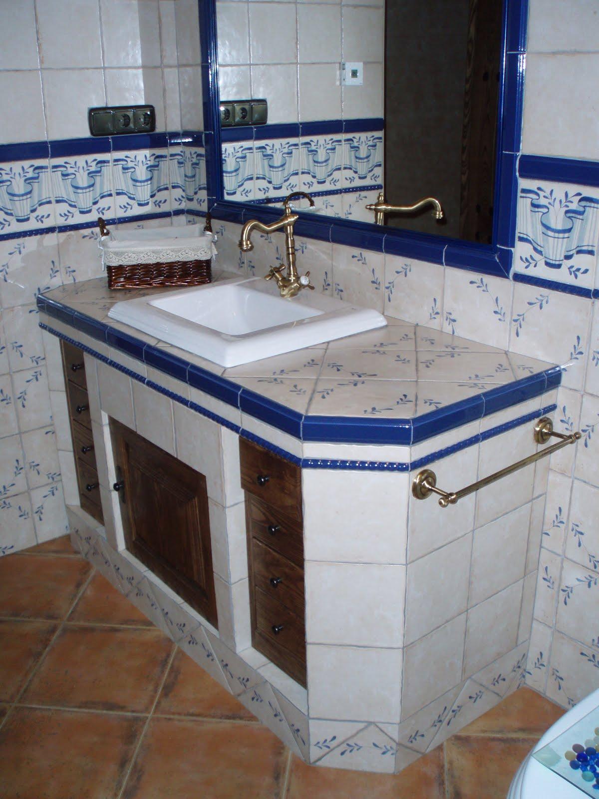 Muebles de baño de obra  Imagenes De Muebles De Baño De Obra