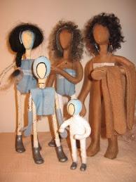 Herstellung der Figuren