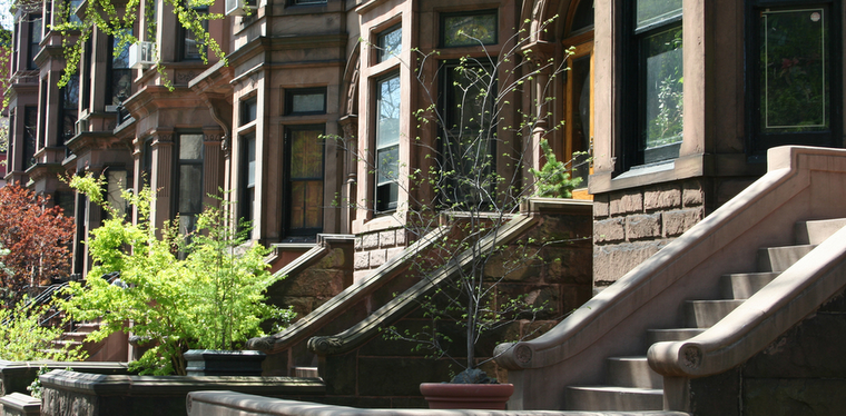 Curvy eco centric recessionista langston hughes for New york city brownstone for sale