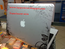 Translucent skin on macbook