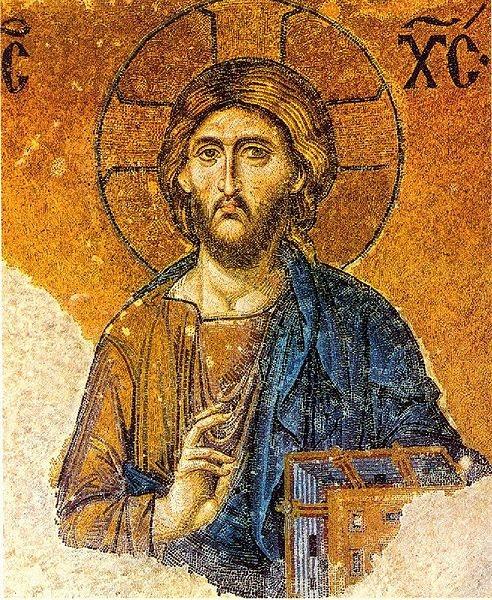 mosaico di cristo