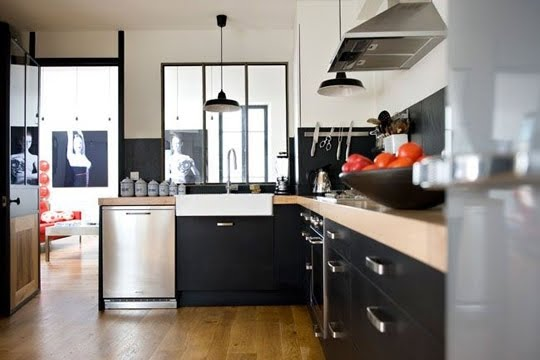 Decorando la francesa boas ideias para uma cozinha - Image cuisine moderne ...